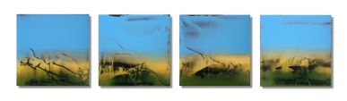"""The Raw Tones of Nature / 10""""×46"""" (25x115cm)"""