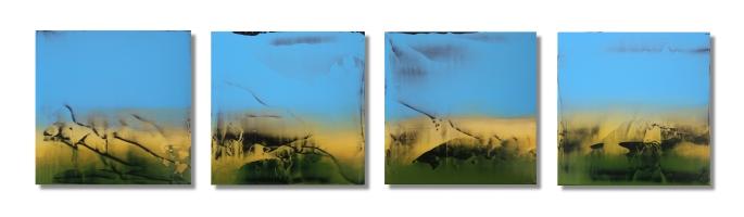 The Raw Tones of Nature / 10×46 (25x115cm)