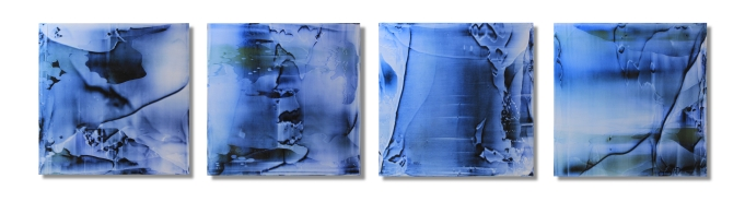 """A Remembrance In The Fall Of The Night (Quartet) / 12""""×57"""" (30x145cm)"""