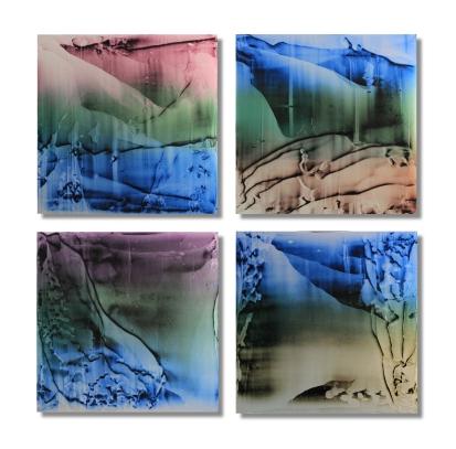 "Along The Waterways(Quartet) / 27""×27"" (68x68cm)"