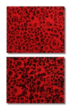 "In The Test Of Time (Diptych) / 34""×20"" (86x50cm)"