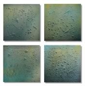 "Day Stream Monday (Quartet) / 26""×26"" (66x66cm)"