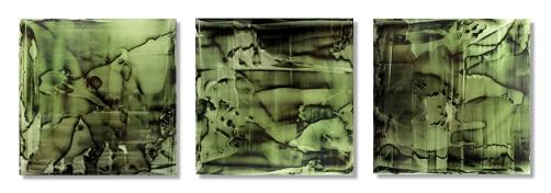 Earthbound (Triptych) / 12″×40″ (30×102 cm)