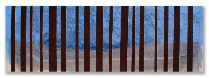 Rear Window / 12″ × 36″ (30 × 91cm)