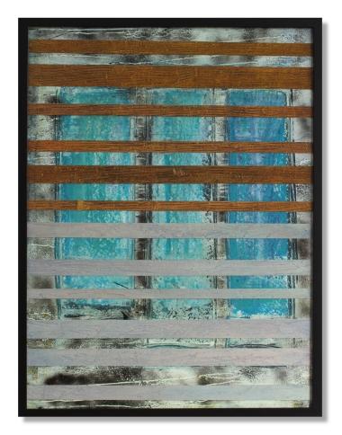 Blue Windows / 41.5″ × 31.5″ (105 × 80cm)
