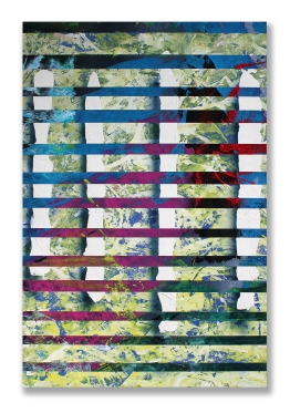 So Went The Curtain / 36″ × 24″ (92 × 61cm)